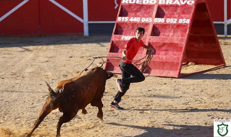 Jokin Rodríguez premio del jurado de los premios taurinos de Pedrola