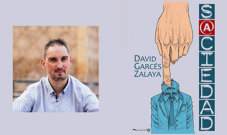 """David Garcés Zalaya presenta en la Biblioteca su último libro """"S@ciedad"""""""