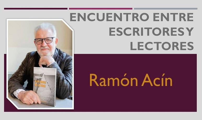 Encuentro con el escritor Ramón Acín en la Biblioteca Municipal