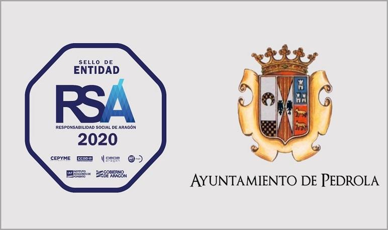 El Ayuntamiento de Pedrola recibe el Sello RSA 2020