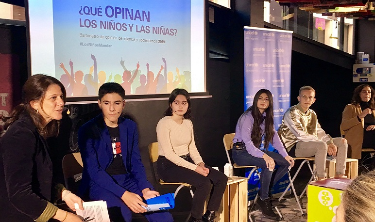 """Pedrola, representada en la presentación del Barómetro """"Los niños Mandan"""" de UNICEF"""