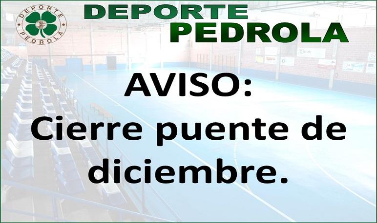 Cierre SDM Pedrola Puente Diciembre