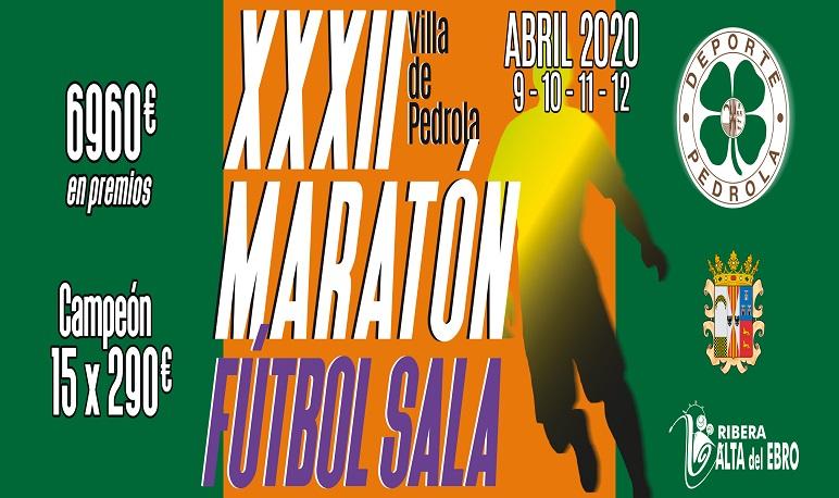 XXXII Maratón Fútbol Sala Villa de Pedrola