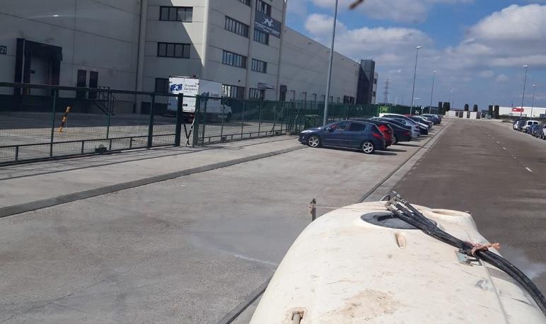 El Ayuntamiento de Pedrola mantendrá la desinfección de calles en fin de semana al menos hasta diciembre