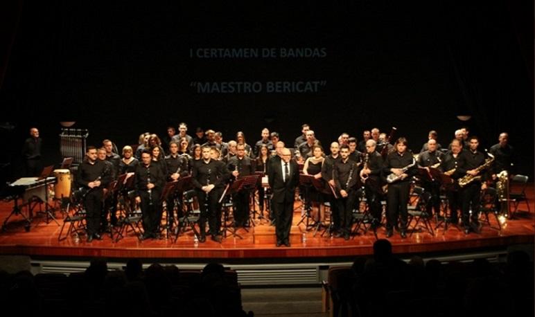 """La Unión Musical de Villanueva de Gállego ganadora del I Certamen de bandas de música """"Maestro Bericat"""" de Pedrola"""