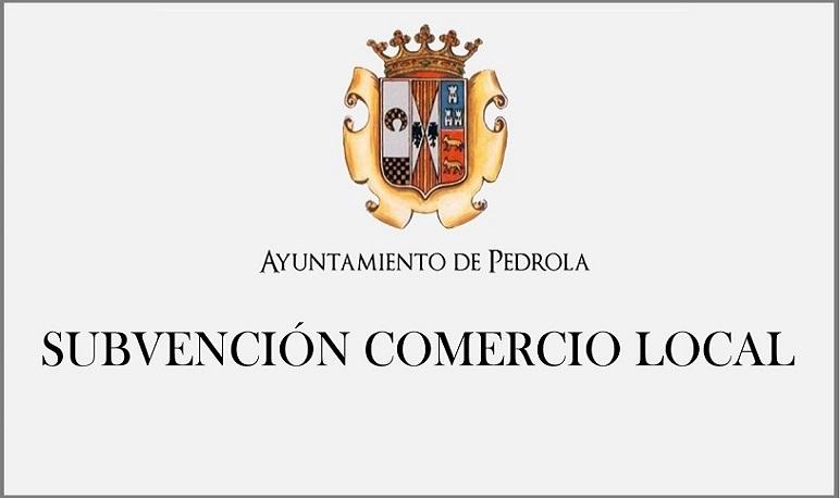 Abierto el plazo de presentación de subvenciones para el comercio local de Pedrola