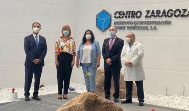 La Delegada del Gobierno en Aragón, Pilar Alegría, visita el Centro Zaragoza de Pedrola