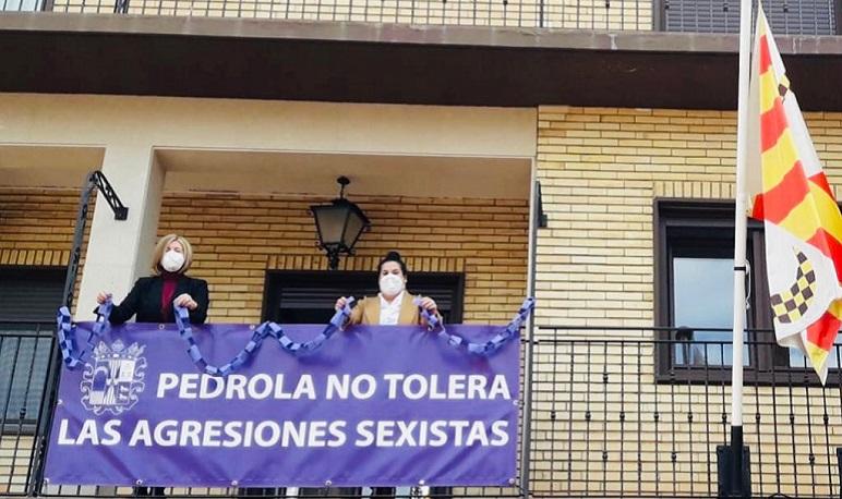 Un año más, Pedrola dice NO a la Violencia de Género.