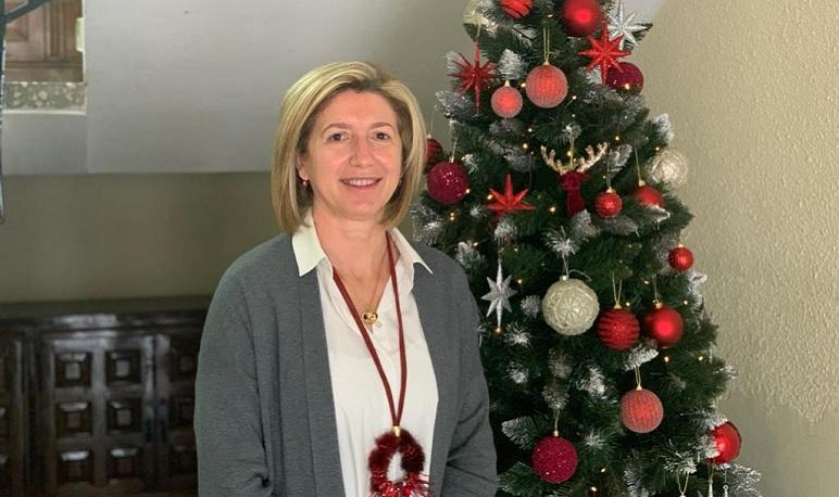 La alcaldesa de Pedrola felicita la Navidad haciendo balance del año 2020
