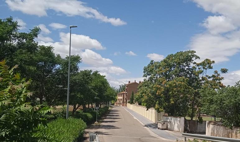 Finalizado el andador que conecta desde el instituto de Pedrola hasta la estación